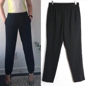 Lord&Taylor work office career black pants comfy S